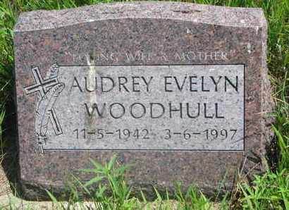 WOODHULL, AUDREY EVELYN - Thurston County, Nebraska | AUDREY EVELYN WOODHULL - Nebraska Gravestone Photos