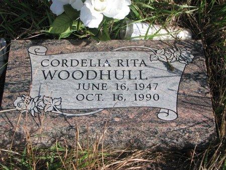 WOODHULL, CORDELIA RITA - Thurston County, Nebraska | CORDELIA RITA WOODHULL - Nebraska Gravestone Photos