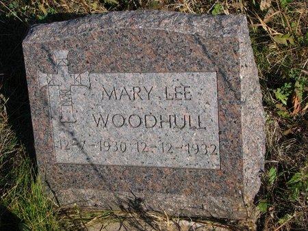 WOODHULL, MARY LEE - Thurston County, Nebraska   MARY LEE WOODHULL - Nebraska Gravestone Photos