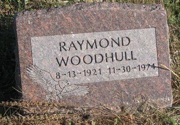WOODHULL, RAYMOND - Thurston County, Nebraska | RAYMOND WOODHULL - Nebraska Gravestone Photos
