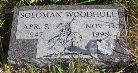 WOODHULL, SOLOMAN - Thurston County, Nebraska   SOLOMAN WOODHULL - Nebraska Gravestone Photos