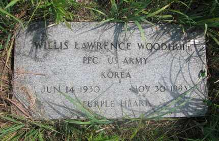 WOODHULL, WILLIS LAWRENCE - Thurston County, Nebraska   WILLIS LAWRENCE WOODHULL - Nebraska Gravestone Photos