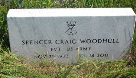 WOODHULL, SPENCER CRAIG - Thurston County, Nebraska | SPENCER CRAIG WOODHULL - Nebraska Gravestone Photos