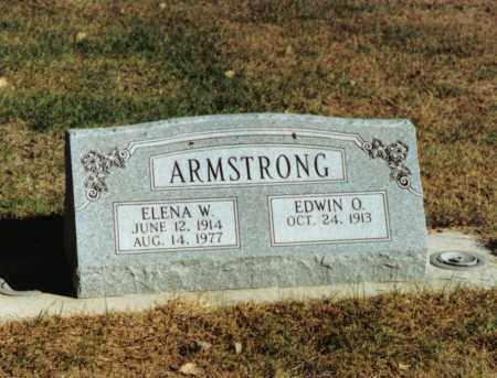ARMSTRONG, EDWIN OLLIS - Valley County, Nebraska | EDWIN OLLIS ARMSTRONG - Nebraska Gravestone Photos