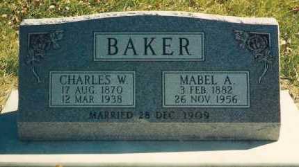 BAKER, MABEL ANNA - Valley County, Nebraska   MABEL ANNA BAKER - Nebraska Gravestone Photos