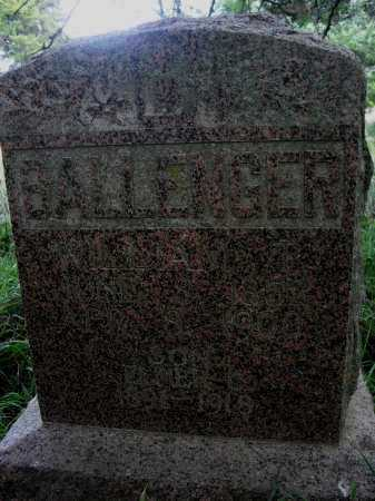 BALLENGER, WILLIAM T. - Valley County, Nebraska | WILLIAM T. BALLENGER - Nebraska Gravestone Photos