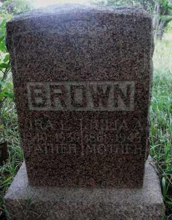 BROWN, JULIA A. - Valley County, Nebraska | JULIA A. BROWN - Nebraska Gravestone Photos