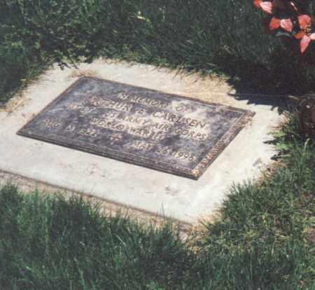 CARLSEN, ARTHUR E. - Valley County, Nebraska   ARTHUR E. CARLSEN - Nebraska Gravestone Photos