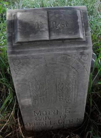 CLARK, MARY E. - Valley County, Nebraska | MARY E. CLARK - Nebraska Gravestone Photos