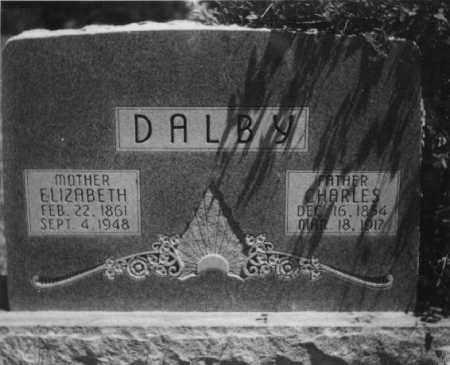 DALBY, ELIZABETH - Valley County, Nebraska   ELIZABETH DALBY - Nebraska Gravestone Photos