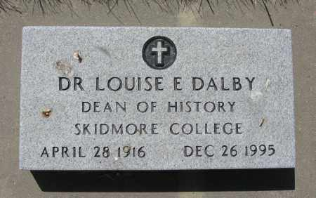 DALBY, LOUISE - Valley County, Nebraska | LOUISE DALBY - Nebraska Gravestone Photos