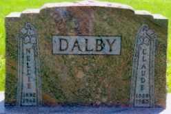 DALBY, NELLIE - Valley County, Nebraska | NELLIE DALBY - Nebraska Gravestone Photos