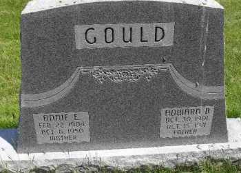GOULD, ANNIE E - Valley County, Nebraska | ANNIE E GOULD - Nebraska Gravestone Photos