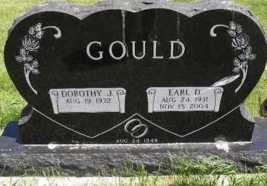 GOULD, EARL D. - Valley County, Nebraska | EARL D. GOULD - Nebraska Gravestone Photos