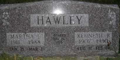 HAWLEY, KENNETH B - Valley County, Nebraska | KENNETH B HAWLEY - Nebraska Gravestone Photos