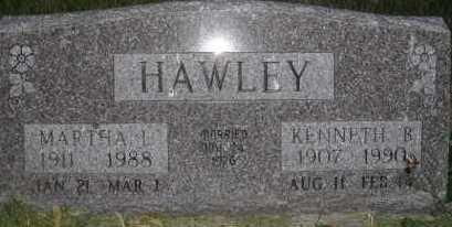 HAWLEY, MARTHA L - Valley County, Nebraska | MARTHA L HAWLEY - Nebraska Gravestone Photos