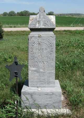 HAWTHORN, SARAH C - Valley County, Nebraska   SARAH C HAWTHORN - Nebraska Gravestone Photos