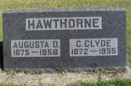 HAWTHORNE, CECIL CLYDE - Valley County, Nebraska | CECIL CLYDE HAWTHORNE - Nebraska Gravestone Photos