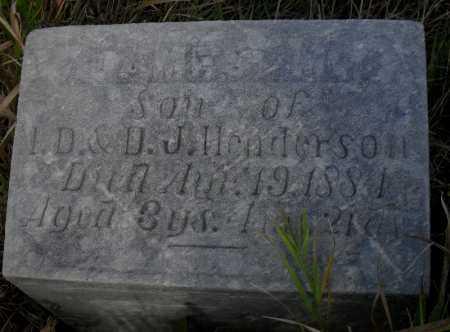HENDERSON, JAMES M. - Valley County, Nebraska | JAMES M. HENDERSON - Nebraska Gravestone Photos