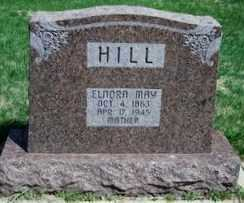 HILL, ELNORE MAY - Valley County, Nebraska | ELNORE MAY HILL - Nebraska Gravestone Photos