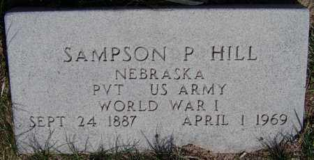 HILL, SAMPSON - Valley County, Nebraska | SAMPSON HILL - Nebraska Gravestone Photos