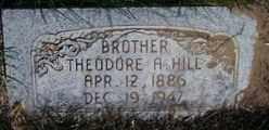HILL, THEODORE - Valley County, Nebraska | THEODORE HILL - Nebraska Gravestone Photos