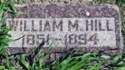 HILL, WILLIAM M. - Valley County, Nebraska | WILLIAM M. HILL - Nebraska Gravestone Photos