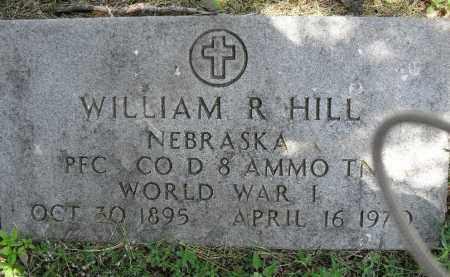 HILL, WILLIAM R - Valley County, Nebraska | WILLIAM R HILL - Nebraska Gravestone Photos