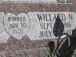HILL, WILLARD N. - Valley County, Nebraska | WILLARD N. HILL - Nebraska Gravestone Photos