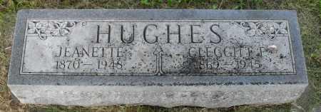 HUGHES, CLEGGITT F - Valley County, Nebraska | CLEGGITT F HUGHES - Nebraska Gravestone Photos