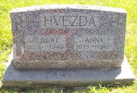 HVEZDA, ANNA - Valley County, Nebraska | ANNA HVEZDA - Nebraska Gravestone Photos