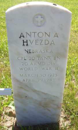 HVEZDA, ANTON A. - Valley County, Nebraska | ANTON A. HVEZDA - Nebraska Gravestone Photos