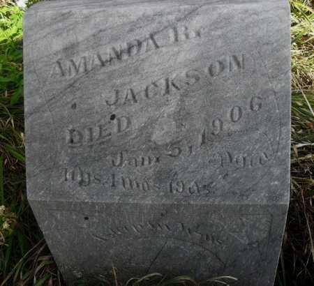 JACKSON, AMANDA R. - Valley County, Nebraska   AMANDA R. JACKSON - Nebraska Gravestone Photos