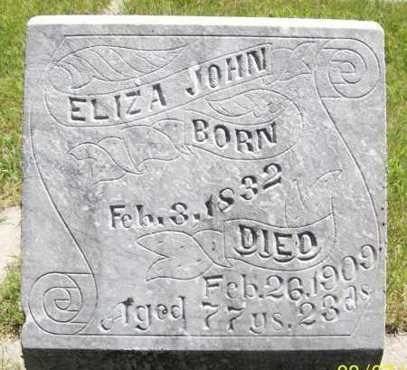 AUTEN JOHN, ELIZA - Valley County, Nebraska | ELIZA AUTEN JOHN - Nebraska Gravestone Photos