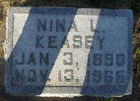 KEASEY, NINA L. - Valley County, Nebraska | NINA L. KEASEY - Nebraska Gravestone Photos