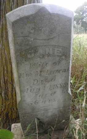 MCLEMENT, JANE - Valley County, Nebraska | JANE MCLEMENT - Nebraska Gravestone Photos