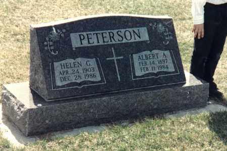 PETERSON, HELEN GLADYS - Valley County, Nebraska | HELEN GLADYS PETERSON - Nebraska Gravestone Photos