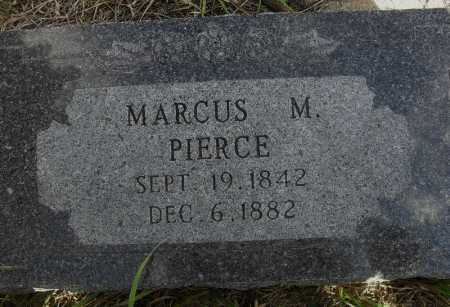 PIERCE, MARCUS M. - Valley County, Nebraska   MARCUS M. PIERCE - Nebraska Gravestone Photos
