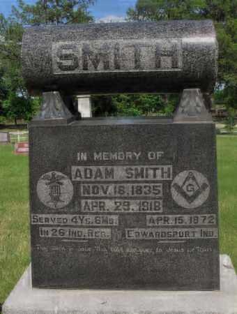 SMITH, ADAM - Valley County, Nebraska | ADAM SMITH - Nebraska Gravestone Photos
