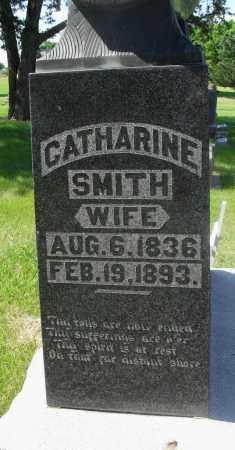 SMITH, CATHERINE - Valley County, Nebraska | CATHERINE SMITH - Nebraska Gravestone Photos