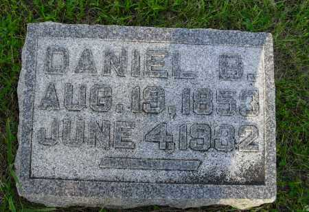 SMITH, DANIEL B - Valley County, Nebraska | DANIEL B SMITH - Nebraska Gravestone Photos