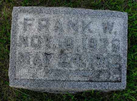 SMITH, FRANK W - Valley County, Nebraska | FRANK W SMITH - Nebraska Gravestone Photos