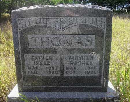 THOMAS, RACHEL - Valley County, Nebraska   RACHEL THOMAS - Nebraska Gravestone Photos