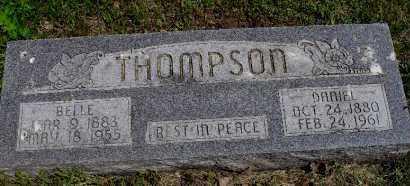 THOMPSON, BELLE - Valley County, Nebraska | BELLE THOMPSON - Nebraska Gravestone Photos