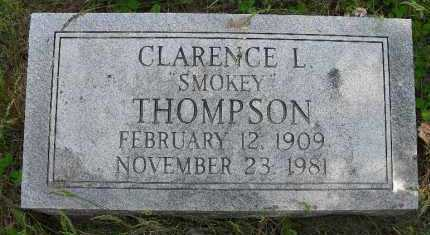 THOMPSON, CLARENCE L (SMOKEY) - Valley County, Nebraska | CLARENCE L (SMOKEY) THOMPSON - Nebraska Gravestone Photos