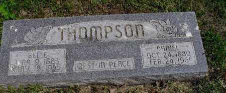 THOMPSON, DANIEL - Valley County, Nebraska | DANIEL THOMPSON - Nebraska Gravestone Photos