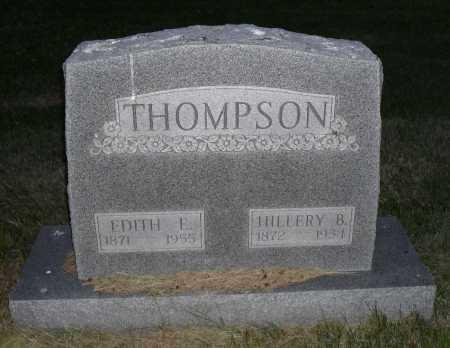 THOMPSON, HILLERY B. - Valley County, Nebraska   HILLERY B. THOMPSON - Nebraska Gravestone Photos