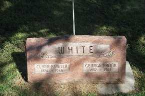WHITE, CLARA - Valley County, Nebraska | CLARA WHITE - Nebraska Gravestone Photos