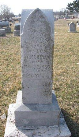 ACKERMAN, ANNA M. - Washington County, Nebraska | ANNA M. ACKERMAN - Nebraska Gravestone Photos