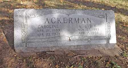 ACKERMAN, LOUIS V - Washington County, Nebraska | LOUIS V ACKERMAN - Nebraska Gravestone Photos